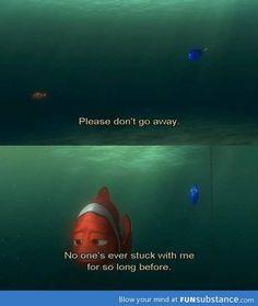 Alone Finding Nemo Movie Nemo Dory Disney Quote Quotes Typography Love Pixar Quotes, Disney Quotes, Movie Quotes, Cartoon Quotes, Dory Quotes, Literary Quotes, Fun Quotes, Quotable Quotes, Finding Nemo Quotes