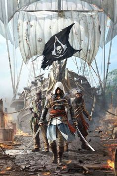 The pirates of assassins creed 4
