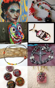 Day of The Dead  by Dagmar Rainbowserpent on Etsy--Pinned with TreasuryPin.com