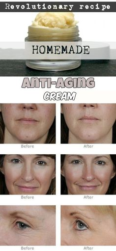 Homemade anti-aging cream (revolutionary recipe)