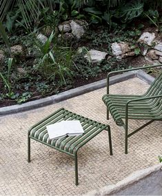 Designed by French brothers Ronan and Erwan Bouroullec, Palissade is a collectio, Product specs, Find dealer Outdoor Furniture Design, New Furniture, Garden Furniture, Design Blog, Interior Design Studio, Hay Design, Outdoor Seating, Outdoor Chairs, Outdoor Decor