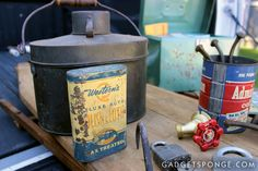 Junkin' and Pickin' Junk Finds with GadgetSponge.com - Repurposing & Upcycling