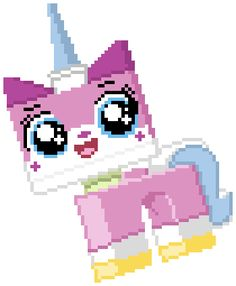 Free Pattern: Lego Movie Unikitty