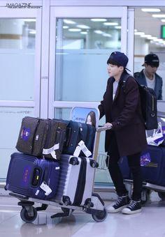 Jimin @ airport
