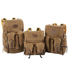 Frost River's Isle Royale Bushcraft Packs, waxed canvas, premium leather, solid brass hardware -- American made, lifetime guaranteed, rugged perfection.