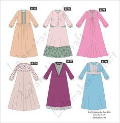 Dress Design Sketches, Fashion Design Drawings, Moslem Fashion, Hijab Style Dress, Dress Anak, Muslim Dress, Maxi Styles, Girl Fashion, Fashion Outfits