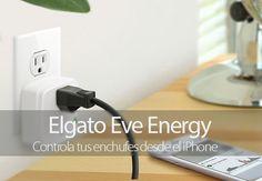 Controla tus enchufes desde el iPhone con Elgato Eve Energy