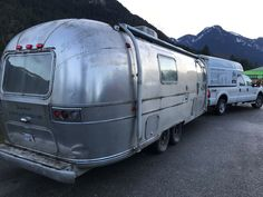 ANOTHER AIRSTREAM MIRACLE TO GO... - Sitka Concept Inc Airstream Interior, Vintage Airstream, Vintage Trailers, Vintage Campers, Rv Campers, Camping Trailers, Airstream Restoration, Next Us, Rv Life