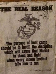 the mental game Marine Corps Quotes, Marine Corps Humor, Usmc Quotes, Us Marine Corps, Qoutes, Military Quotes, Military Humor, Military Love, Once A Marine