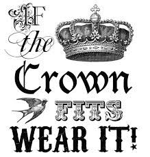 If the Crown Fits -  Letters2Me-Media