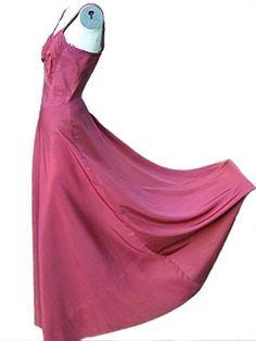 Vintage 1930s dress . red burgundy dress . 1930s by bonitalouise, $125.00