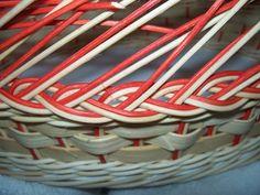 NÁVODY | COP - UKONČENÍ VEN Z KOŠE | pedig, dýnka, korálky, ubrousky,koše, kurzy, fotonávody Basket, Craft, Hampers, Bag, Basket Weaving, Hamper