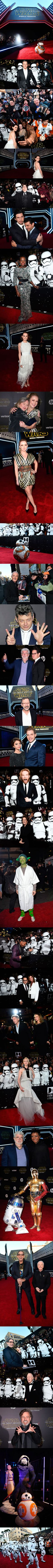 Photos Collection Of Star Wars: The Force Awakens World Premiere