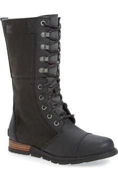 SOREL 'Major Maverick' Mid Calf Zip Boot (Women) available at #Nordstrom