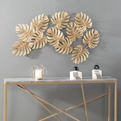 Bayou Breeze Display your natural whimsy with this Wall Décor. 11 Leaves come together, dancing from left to right to form an autumn-inspired look you can't live without. Create your boho design dream with this eclectic wall décor. Leaf Wall Art, Diy Wall Art, Wall Décor, Eclectic Wall Decor, Metal Wall Decor, Metal Wall Sculpture, Wall Sculptures, Creating An Entryway, Oversized Wall Art