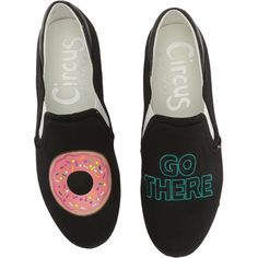 ad795c7a0273 Circus by Sam Edelman Charlie-22 (Black (Donut Go There) Canvas)
