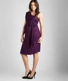 {Grape Convertible Maternity Dress by Maternal America} If only I was this hot when I was pregnant. ;-) Gorgeous.