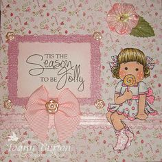 Tilda Yummy Christmas  Image from Magnolia Stamps