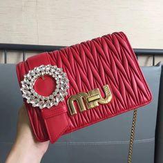 d775dbe9b514 Miu Miu My Miu Shoulder Bag 100% Authentic 80% Off