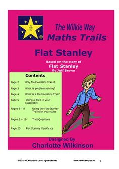 This Wilkie Way Maths Trail is based on the story of Flat Stanley by Jeff… Flat Stanley, Math Problem Solving, Math Problems, Maths, Mathematics, Curriculum, Trail, Students, Knowledge