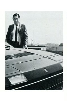 Ferrari 400i - Pininfarina (1979-1985) - Sergio Pininfarina et sa 400 personnelle - Automobiles Classiques automne 1984.