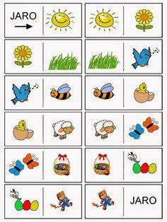Pictogram, Teaching Kids, Montessori, Kindergarten, Crafts For Kids, Memories, School, Spring, Bingo