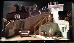 The Piano Lesson (Model). McCarter Theater. Scenic design by Neil Patel. 2016
