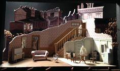 The Piano Lesson (Model). McCarter Theater. Scenic design by Neil Patel. 2016