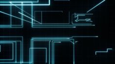 """TRON GFX Opening Titles. For Disney's """"TRON: Legacy,"""" Bradley Munkowitz, better known as GMUNK, was the lead animated graphics artist. He as..."""