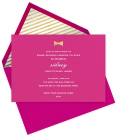 Captivating Paperless Post   Designers   Kate Spade New York Greetings @kate Spade New  York #. Pink InvitationsEvent InvitationsBridal ...