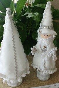 Natal branco com mais paz e esperança. @ateliersantareciclagem