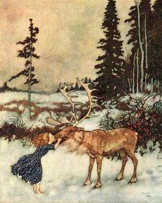 Hans Christian Andersen - The Snow Queen (Edmund Dulac illustration)
