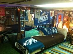 #FlyEaglesFly Fan Cave