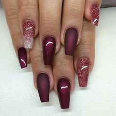 Red mate nails