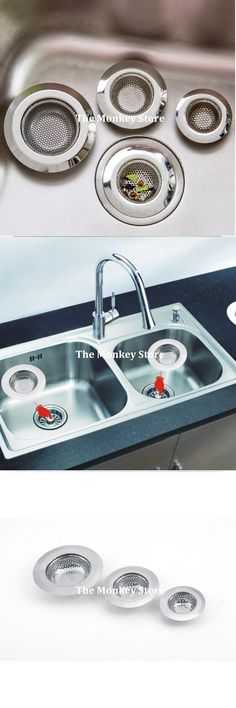 [Visit to Buy] Fashion Stainless Steel Kitchen Appliances Sewer Convenient Filter Barbed Wire Filter Sink F0373 #Advertisement