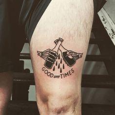 Lacroix booze tattoos