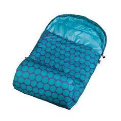 Big Dot Aqua Stay Warm Sleeping Bag Purple @ campingoutdoorfishing.com