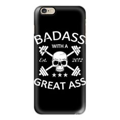 Badass Gymdesign - iPhone 6s Case,iPhone 6 Case,iPhone 6s Plus... ($40) ❤ liked on Polyvore featuring accessories, tech accessories, iphone case, iphone cases, slim iphone case, apple iphone case, clear iphone case and iphone cover case