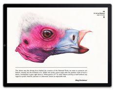 Une vision fantaisiste de la nature sur iPad