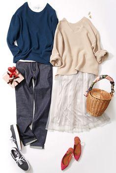 """バレンタインデートは""""大人ガーリー""""で! ルミネが2017春に提案するトレンドテーマは、「Favorite Hiding Place」。""""ロマンティック""""で幸福感あふれる服で、自分だけのお気に入りスタイルを見つけましょう! 洗練されたシンプルなコーディネートで人気のスタイリスト川上さやかさんがリアルな着こなしを実践します!"""
