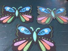 mariposas apliques