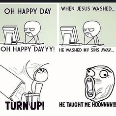 turnin-up-in-church #Christian #Memes #Christianmemes