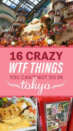 16 Crazy Things You Can't Not Do When You're In Tokyo - Fernreiseziele. Ganz weit weg - 16 Crazy Things You Can't Not Do When You're In Tokyo 16 Crazy Things You Can't Not Do When You're In go link to read more… Tokyo Japan Travel, Japan Travel Guide, Go To Japan, Visit Japan, Asia Travel, Japan Trip, Tokyo Trip, Eat Tokyo, Okinawa Japan
