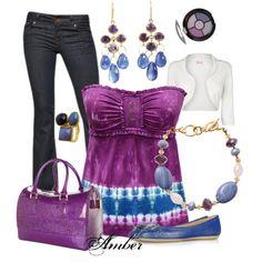 Purple & Blue Sapphire - Polyvore