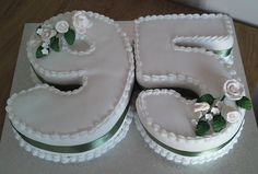 cake decoration for 95 birthday - maybe something like this will work for Noni, but would have to be pink