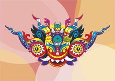 Mascara de Diablada on Behance