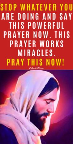 Stop Whatever You Are Doing And Say This Powerful Prayer Now. this prayer works miracles. Prayer Of Praise, Jesus Prayer, Prayer Verses, Faith Prayer, Power Of Prayer, Prayer Quotes, God Jesus, Jesus Christ, Son Quotes