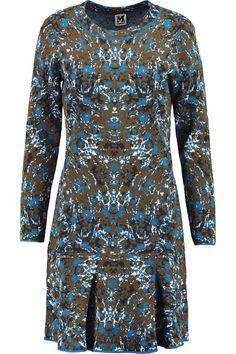 M MISSONI Jacquard-Knit Cotton-Blend Mini Dress. #mmissoni #cloth #dress