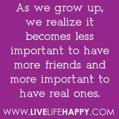 As We Grow Up