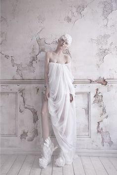 """The Snow Bird"", part I  Photographer: Lelya Martian Mua, style: Alisa Gagarina Model: Alevtina Kuptcova"